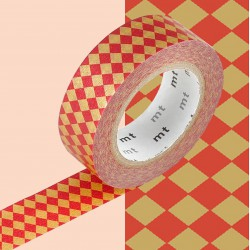 Masking Tape MT Deco Diamond Vermilion