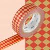 Masking Tape MT Deco Diamond Vermilion
