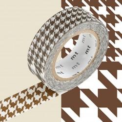 Masking Tape MT Deco Chidori Brown
