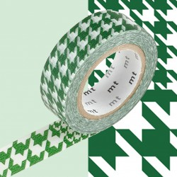 Masking Tape MT Deco Chidori Green