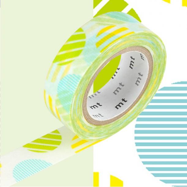 Masking Tape MT Deco Arche Vert