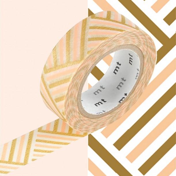 Masking Tape MT Deco Corner Peach