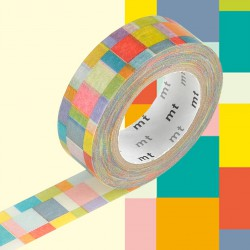 Masking Tape MT Mosaïque Claire
