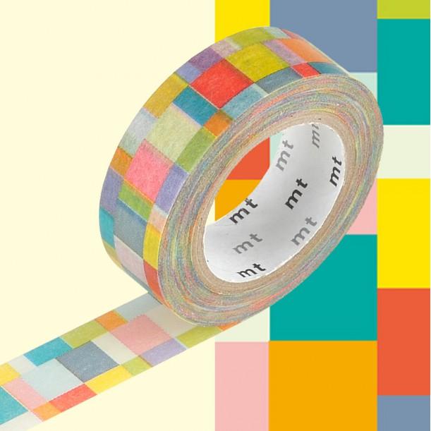 Masking Tape MT Deco Mosaic Bright