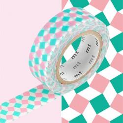 Masking Tape MT Carré Rose