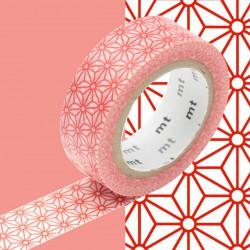 Masking Tape MT Deco Etoile Rouge