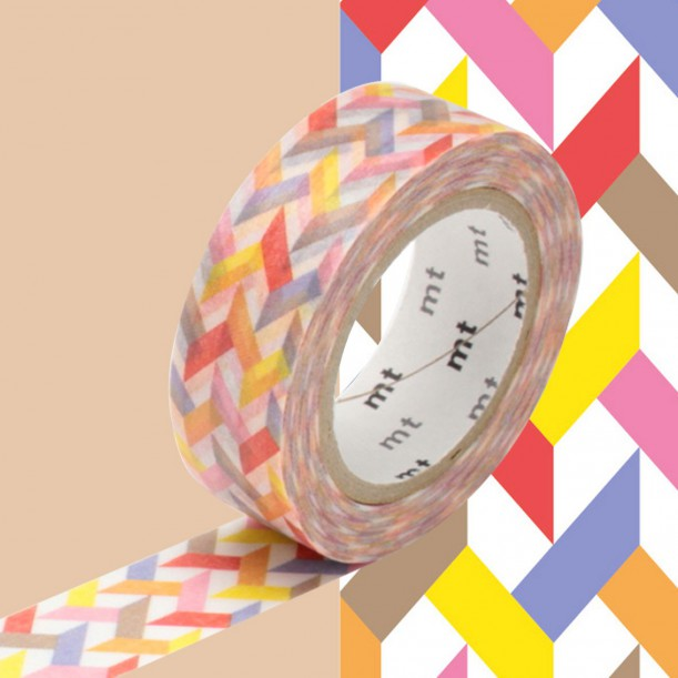 Masking Tape MT Deco Slash Red