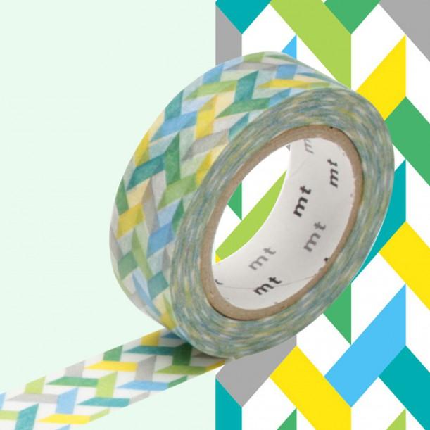 Masking Tape MT Deco Slash Green
