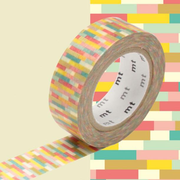 Masking Tape MT Deco Block Pink