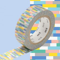 Masking Tape MT Deco Block Blue