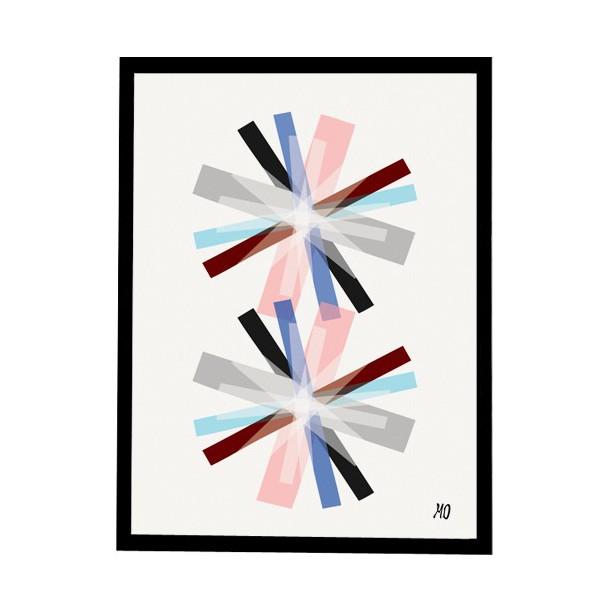 Print Strips N°1 going Danish