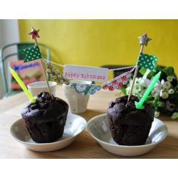 Bannière de Gateau Happy Birthday Les Colocataires