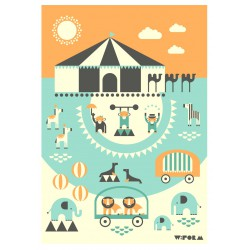Affiche Circus W:Form