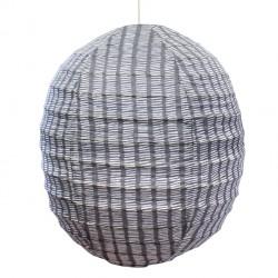 Small Fabric Lantern Bamako Indigo Bakker