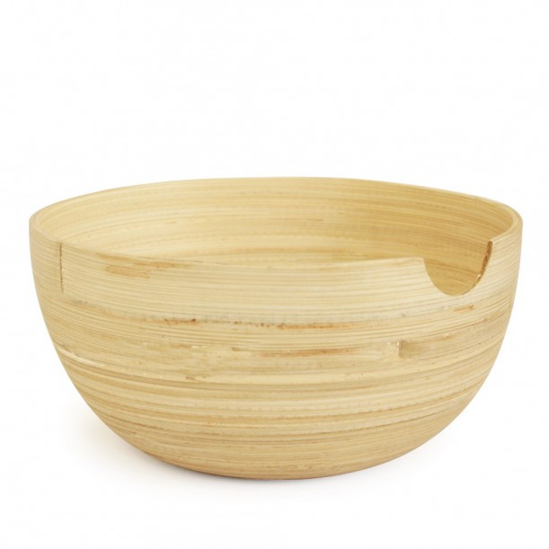 Natural Serving Bowl RISO Ekobo