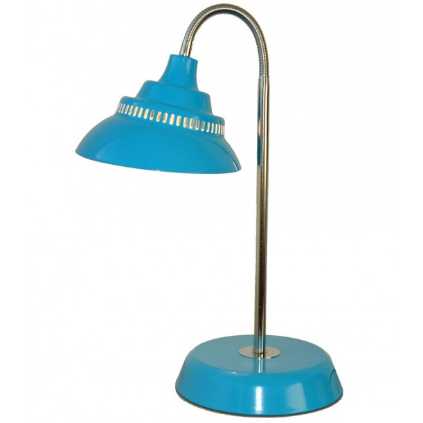 Large Table Lamp Turquoise Blue Waterquest