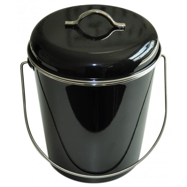 Poubelle Noire 6 Litres Waterquest