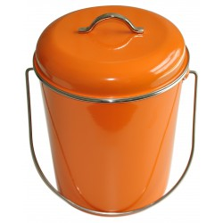 Poubelle Orange 6 Litres Waterquest