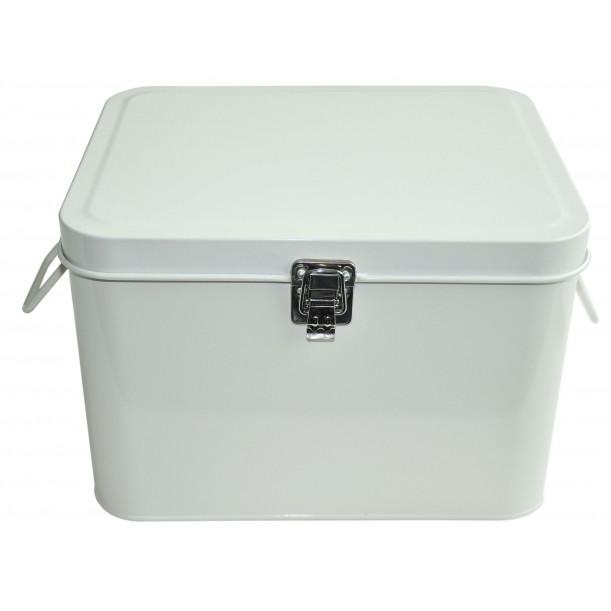 White Storage Metal Box Waterquest
