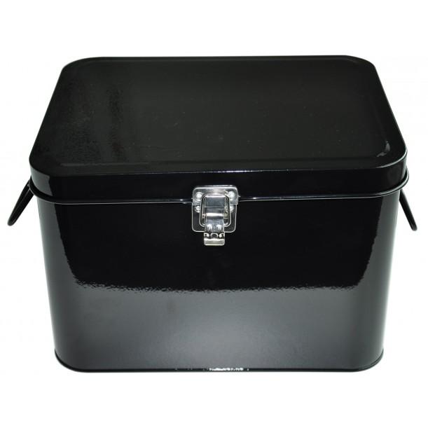 Black Storage Metal Box Waterquest