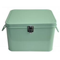 Dark Mint Storage Metal Box Waterquest
