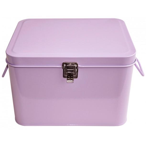 New Pink Storage Metal Box Waterquest