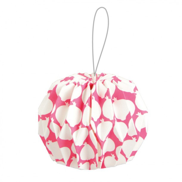 Origami Hanging Ornament Grenade Atelier LZC