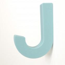 Patère en silicone Souple Gum Hook Bleu