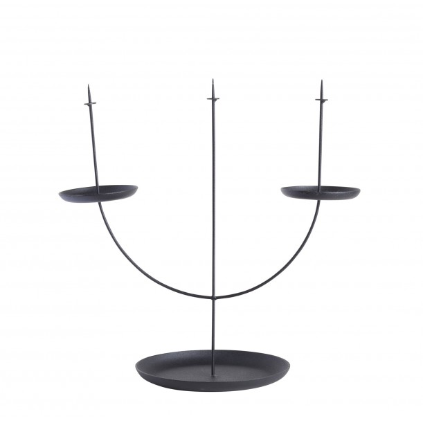 Candelabra Pin Black Eno