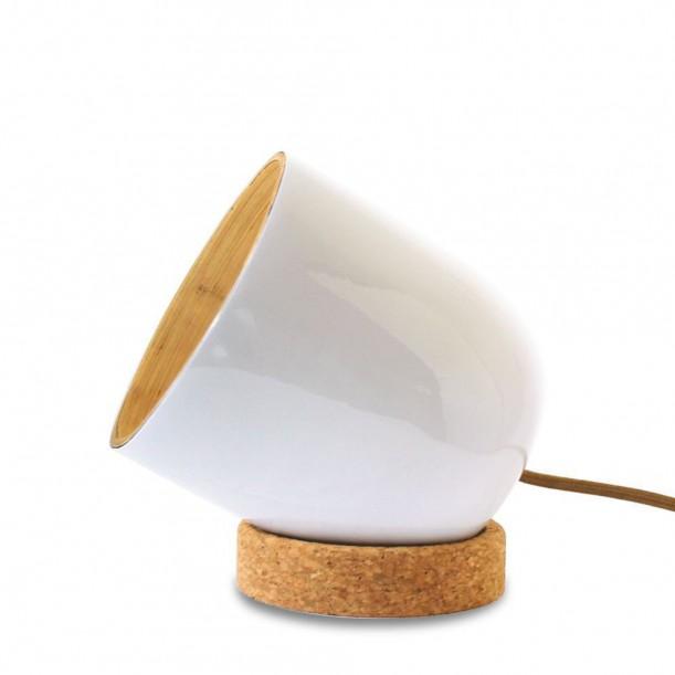 BRIO WHITE Small Table Lamp Ekobo