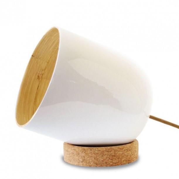 BRIO WHITE Medium Table Lamp Ekobo