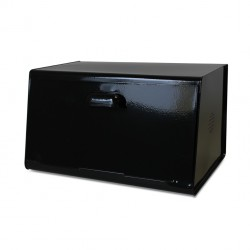Black Metal Bread Bin Waterquest