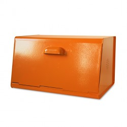 Orange Metal Bread Bin Waterquest