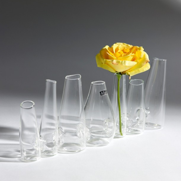 7 Cone Vase Chaîne