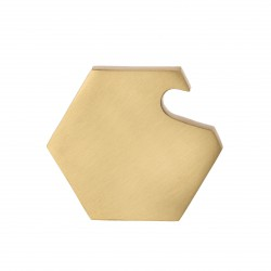Hexagon Brass Bottle Opener Ferm Living