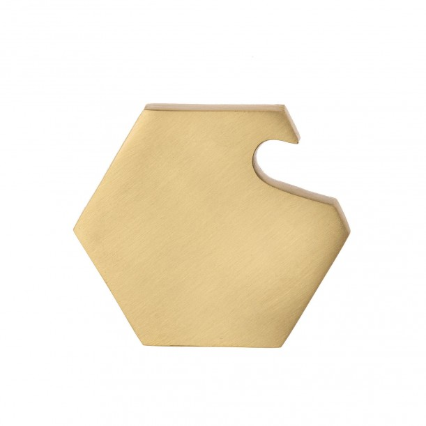 Hexagon Brass Bottle Opener Ferm Living