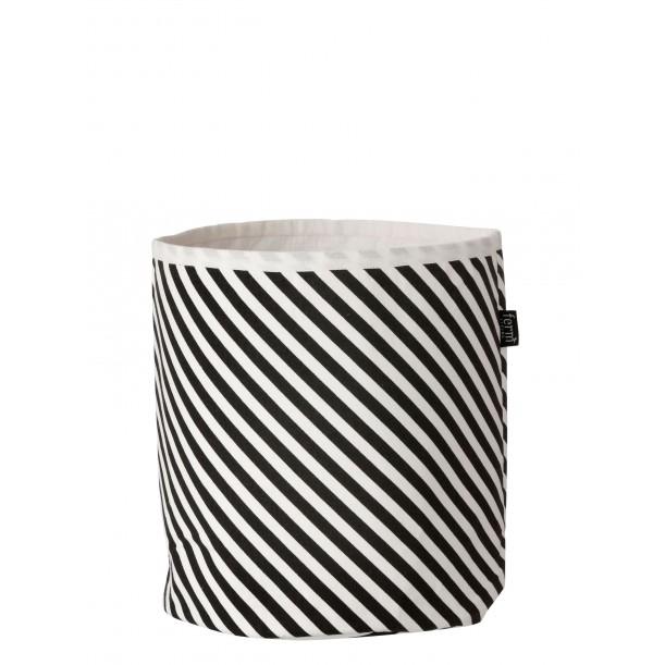 Stripe Small Basket Ferm Living