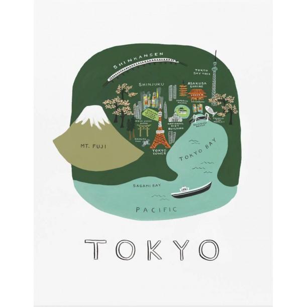 Affiche Tokyo Rifle Paper