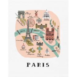 Affiche Paris Rifle Paper