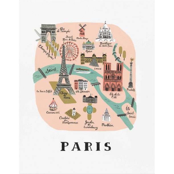 Print Paris Rifle Paper