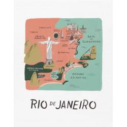 Affiche Rio de Janeiro Rifle Paper