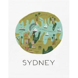 Affiche Sydney Rifle Paper