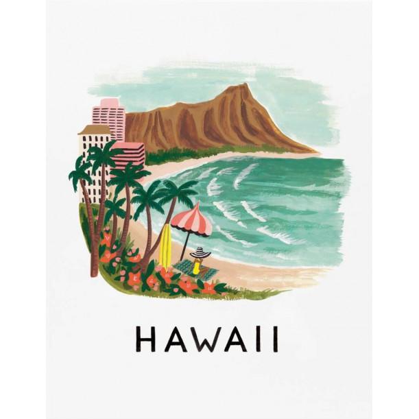 Affiche Hawaii Rifle Paper