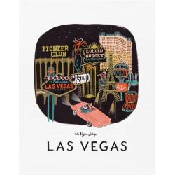 Affiche Las Vegas Rifle Paper
