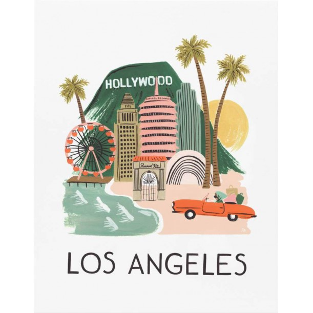 Print Los Angeles Rifle Paper