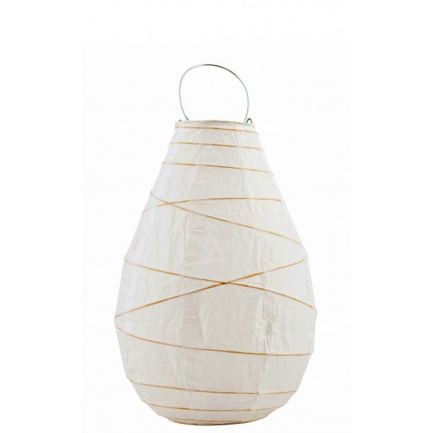 Drop Small White Paper Lantern House Doctor