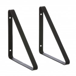 2 Shelf Hangers Black for The Shelf by ferm living