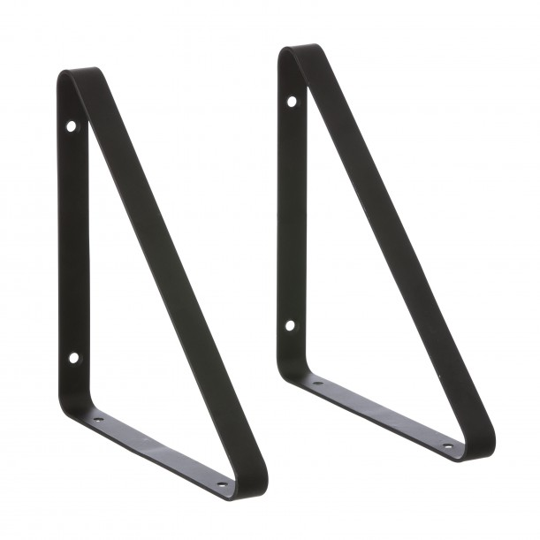 2 Shelf Hangers Black for The Shelf by ferm living