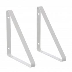2 Shelf Hangers White for The Shelf by ferm living