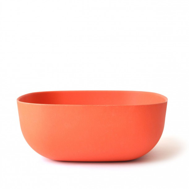 Small Salad Bowl Persimmon Biobu Gusto by Ekobo